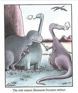 LarsonFarSide_Dinosaurs